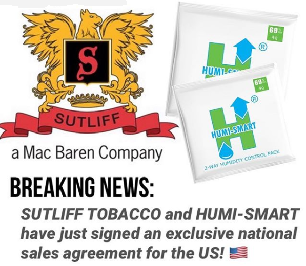 BREAKING NEWS! Sutliff + HUMI-SMART